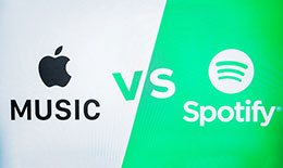 Apple MusicとSpotifyを比較